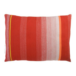 T.E. 036 CUSHION DARK RED By Thomas Eyck - The T.E. 036 Cushion in dark red is super soft, and highly decorative for your living room or bed rooms. It is made with Marino wool and cotton.