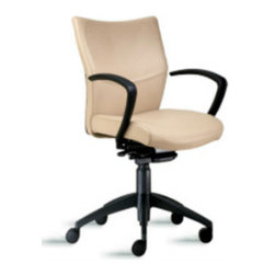 9 to 5 Seating - Leather Office Chair - Top Grain Leather