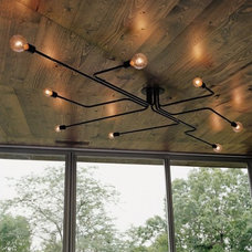 Contemporary Ceiling Lighting by AES Mobile Studios