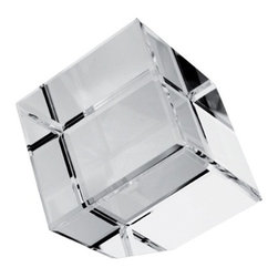 Kito - 2 3/8 Inch Solid Clear Crystal Square Paperweight with Beveled Corners - This gorgeous 2 3/8 Inch Solid Clear Crystal Square Paperweight with Beveled Corners has the finest details and highest quality you will find anywhere! 2 3/8 Inch Solid Clear Crystal Square Paperweight with Beveled Corners is truly remarkable.