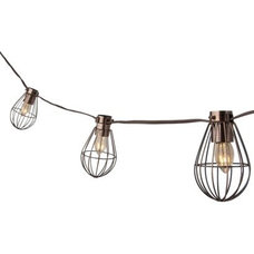 Industrial Outdoor Rope And String Lights by Target