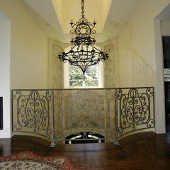 mediterranean hall by Mega Builders