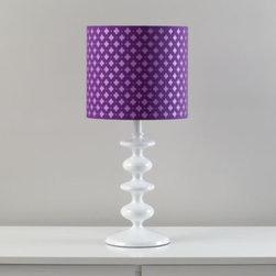 Glow Lightly Table Shade (Purple) -