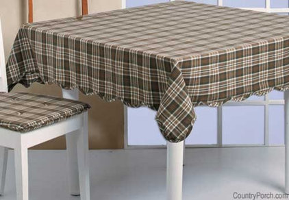 Traditional Tablecloths by The Country Porch