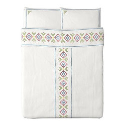 Emma Jones - BIRGIT LANTLIG Duvet Cover and Pillowcase(s) - This boho chic pattern from IKEA is easy, breezy and perfect for a girl going into her teens.