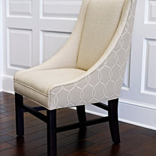 Contemporary Dining Chairs by Libby Langdon Interiors, Inc.