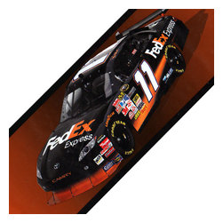Borders Unlimited - Nascar Denny Hamlin Self Stick Wall Border Accent Roll - Features: