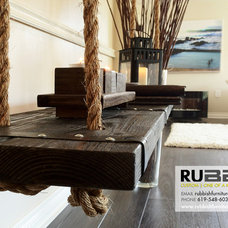 Dining Benches by Rubbish Furniture