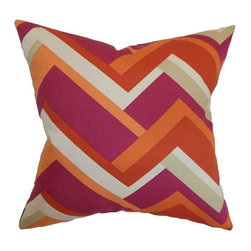 Pillow Collection - The Pillow Collection Hoonah Geometric Pillow - P18-D-21045-AQUAGREEN-C100 - Shop for Pillows from Hayneedle.com! With the mod looks of a 1960's designer dress The Pillow Collection Hoonah Geometric Pillow is sure to have your room swingin'. Made of 100% top quality cotton this stunning square pillow features a plush 95/5 feather/down insert for amazing softness. The bold geometric print is highlighted by a bold and vibrant color palette. Available in your choice of colors you can get the look that's just right for your home.About The Pillow CollectionIdentical twin brothers Adam and Kyle started The Pillow Collection with a simple objective. They wanted to create an extensive selection of beautiful and affordable throw pillows. Their father is a renowned interior designer and they developed a deep appreciation of style from him. They hand select all fabrics to find the perfect cottons linens damasks and silks in a variety of colors patterns and designs. Standard features include hidden full-length zippers and luxurious high polyester fiber or down blended inserts. At The Pillow Collection they know that a throw pillow makes a room.