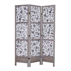 Cachet Screen - Put this in a corner in your bedroom and hide your laundry basket, shoe boxes and whatever else doesn't fit in your closet. You'll add a decorative background and update your decor.