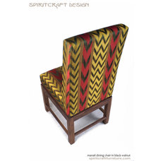 Modern Dining Chairs by Spiritcraft Fine Furniture and Cabinet Makers