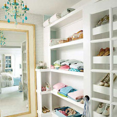 eclectic  Organizational Inspiration: Neat &amp; Beautiful Closets | Apartment Therapy DC