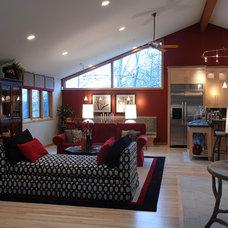 Contemporary Hardwood Flooring by Signature Innovations LLC