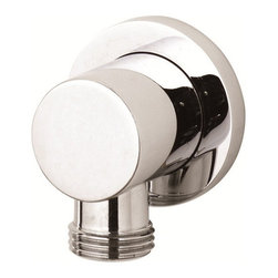 Hudson Reed - Hudson Reed Minimalist Outlet Elbow Chrome Plated Brass - The Minimalist outlet elbow from Hudson Reed features a chrome finish to blend in with any bathroom decor. This outlet elbow has a 1/2 NPT inlet and a 1/2 BSP outlet. Hudson Reed Minimalist Outlet Elbow Details   Chrome finish IAPMO approved Sliding collar 1/2 NPT inlet and 1/2 BSP outlet