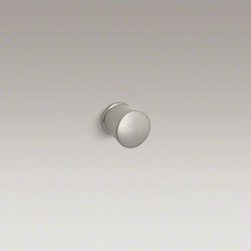 KOHLER - KOHLER Archer(R) cabinet knob - The timeless appeal of Archer accessories works beautifully with an array of bathroom styles. This sturdy metal cabinet knob embodies Archer's classical design lines, allowing you to create a stylish bathroom down to the smallest detail.