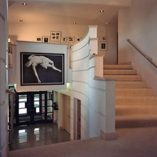 Contemporary Staircase by Carlsen & Frank Architects