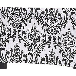 Sweet Jojo Designs - Isabella Hot Pink, Black and White Window Valance by Sweet Jojo Designs - The Isabella Hot Pink, Black and White Window Valance by Sweet Jojo Designs, along with the  bedding accessories.
