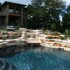 Rustic Pool by Botanical Concerns LLC