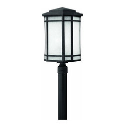 Hinkley Lighting - Hinkley Lighting 1271VK Cherry Creek 1 Light Post Lights & Accessories in Vintag - Large Post Outdoor