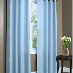 Thermavoile - Thermavoile Rhapsody Solid Sheer Grommet Panel - 049005408001 - Shop for Curtains and Drapes from Hayneedle.com! Keep the look sheerly fabulous while keeping your indoor climate under control with the Thermavoile Rhapsody Solid Sheer Grommet Panel. A high-tech voile insulates without completely blocking light for a translucent glow. Linings are color-matched for a polished appearance inside and out.About Commonwealth Home FashionsA family business Commonwealth Home Fashions was founded in 1946 by the Levenson brothers. Today the operate facilities in Montreal Qc Canada and in Willsboro NY. Over the years they've built their reputation by producing and importing decorative soft window treatments decorative pillows and throws bed coverings shower curtains and more.