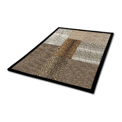 """Blancho Bedding - Onitiva - Optional Style Patchwork Throw Blanket  61""""-86.6"""" - This animal skin patchwork throw blanket measures 61 by 86.6 inches. Comfort, warmth and stylish designs."""
