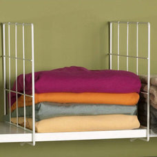 Contemporary Clothes And Shoes Organizers by Organize-It