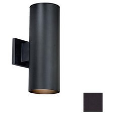 Cascadia Lighting Chiasso 14-1/4-in H Textured Black Outdoor Wall Light