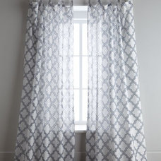 Contemporary Curtains by Horchow