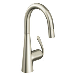 Grohe - Grohe 32283SD0 Realsteel Ladylux One Handle Pulldown Bar Faucet - Grohe 32283Sd0 Realsteel Ladylux one handle Pulldown Bar Faucet