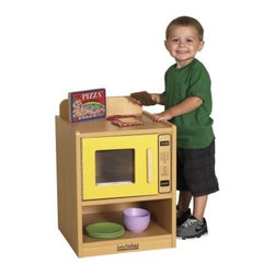 ECR4KIDS Colorful Essentials Play Microwave Oven - About Early Childhood ResourcesEarly Childhood Resources is a wholesale manufacturer of early childhood and educational products. It is committed to developing and distributing only the highest-quality products, ensuring that these products represent the maximum value in the marketplace. Combining its responsibility to the community and its desire to be environmentally conscious, Early Childhood Resources has eliminated almost all of its cardboard waste by implementing commercial Cardboard Shredding equipment in its facilities. You can be assured of maximum value with Early Childhood Resources.