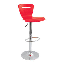 H2 Bar Stool Red