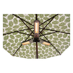 AZ Patio Heaters - Parasol Electric Patio Heater - Parasol Electric Patio Heater.