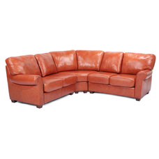 Traditional Sectional Sofas by THE LUXURY OF LEATHER