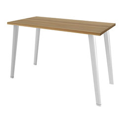 Turnstone - Turnstone Table with Tapered Legs - The Turnstone Table with Tapered Legs combines design and strength into a versatile table that works well in any office or home work space. The Turnstone Table offers functional, durable work surface.