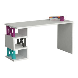DECORTIE - XoX WORKING DESK / OFFICE TABLE - XOX Work Desk by DECORTIE is one of our most extraordinary products.