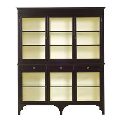 Vanguard Furniture - Vanguard Furniture Alexander Display Cabinet 8324DC-EI - Vanguard Furniture Alexander Display Cabinet 8324DC-EI