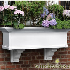 Provincial Window - Kit - White - Self Watering Window Boxes - Window Boxes - Wi