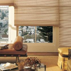 Hunter Douglas Woven Woods Window Treatments - Hunter Douglas Alustra® Woven Textures® with Standard Cordlock