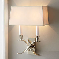Contemporary Wall Sconces by Horchow