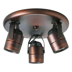 Progress Lighting - Progress Lighting Urban Bronze 3-light Spotlight Fixture P6153-174WB - Shop for Lighting & Fans at The Home Depot. Contemporary style light with integral swivel to provide accent or task lighting. Install as a ceiling or wall mount fixture.