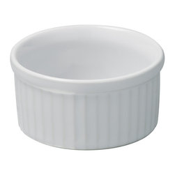 Revol - Revol Porcelain Grands Classiques Ramekin - Whether or not you know what to put inside a ramekin doesn't really matter, it's the ramekin that counts. With smooth sides and an individual portion size you can put anything from a single-size soufflé to a display of mixed nuts for poker night and it will present with baller status.