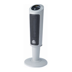 "Lasko Products - Digital Ceramic Pedestal Heater 30"" - Lasko 30"" Digital Ceramic Pedestal Heater w/ Remote. Elevated Pedestal Heater quickly circulates warmth where it's needed most--at seated height.  Multi-function digital remote control."