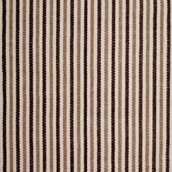 Hook & Loom Rug Company - Otis Rug - Very eco-friendly rug, hand-woven with yarns spun from 100% recycled fiber.  Color comes from the original textiles, so no dyes are used in the making of this rug.  Made in India.