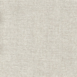 Romosa Wallcoverings - Grey Faux Linen Embossed Geo Wallpaper - - Color: Grey