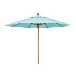 Woodard - Woodard 8 Foot Push Up Lift No Tilt Umbrella - The name Woodard Furniture has been synonymous with fine outdoor and patio furniture since the 1930s continuing the company�s furniture craftsmanship dating back over 140 years. Woodard began producing hand-made wrought iron furniture which led the company into cast and tubular aluminum furniture production over the years.� Most recently Woodard patio furniture launched its entry into the all-weather wicker furniture market with All Seasons which is expertly crafted and woven using synthetic wicker supported by an aluminum frame.� The company is widely known for durable beautiful designs that provide attractive and comfortable outdoor living environments.� Its hand-crafted technique used to create the intricate design patterns on its wrought iron furniture have been handed down from generation to generation -- a hallmark of quality unmatched in the furniture industry today. With deep seating slings and metal seating options in a variety of styles Woodard Furniture offers the designs you want with the quality you expect.  Woodard aluminum furniture is distinguished by the purest aluminum used in the manufacturing process resulting in an extremely strong durable product which still can be formed into flowing shapes and forms.� The company prides itself on the fusion of durability and beauty in its aluminum furniture offerings. Finishes on Woodard outdoor furniture items are attuned to traditional and modern design sensibilities. Nineteen standard frame finishes and nineteen premium finishes combined with more than 150 fabric options give consumers countless options to design their own dream outdoor space. Woodard is also the exclusive manufacturer of outdoor furnishings designed by Joe Ruggiero home decor TV personality.� The Ruggiero line includes wrought iron aluminum and all weather wicker designs possessing a modern aesthetic and fashion-forward styling inspired by traditional Woodard patio furniture designs