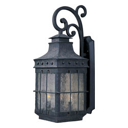 Maxim Lighting - Maxim Lighting 30085CDCF Nantucket Country Forge Outdoor Wall Sconce - 4 Bulbs, Bulb Type: 60 Watt Incandescent