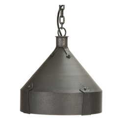 Steel Partners Inc - Pendant - TRULLI - Every piece we create is unique — handcrafted at our factory in Chehalis, Washington, USA. Due to this, lead times are 2 to 4 weeks.