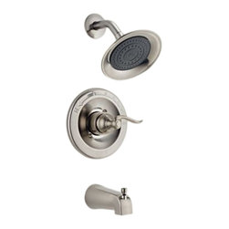 Delta - Delta BT14496-SS Windemere Monitor 14 Series Tub and Shower Trim (Stainless) - The Windemere Series brings a curved, sleek style to any contemporary home. It also features a dependable, yet chic design.