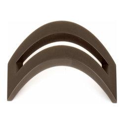 Alno Inc. - Alno Creations 8 Inch Split Top Pull Chocolate Bronze A422-8-Chbrz - Alno Creations 8 Inch Split Top Pull Chocolate Bronze A422-8-Chbrz
