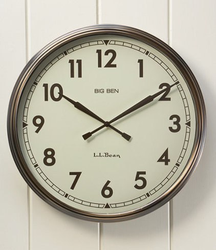 Traditional Clocks by L.L. Bean